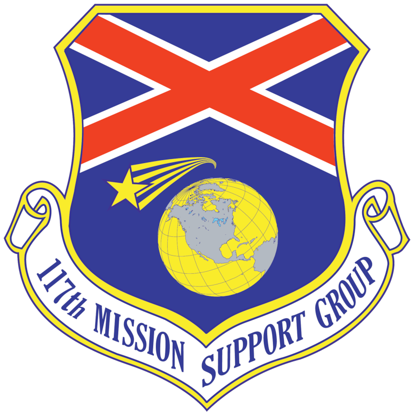117th Mission Support Group Patch