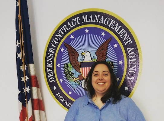 Amber Veliz, a contracting intern at Defense Contract Management Agency Los Angeles, participated in an academic program at the University of Arizona in June designed to help veterans excel in college and their future careers. (Photo courtesy of Amber Veliz)