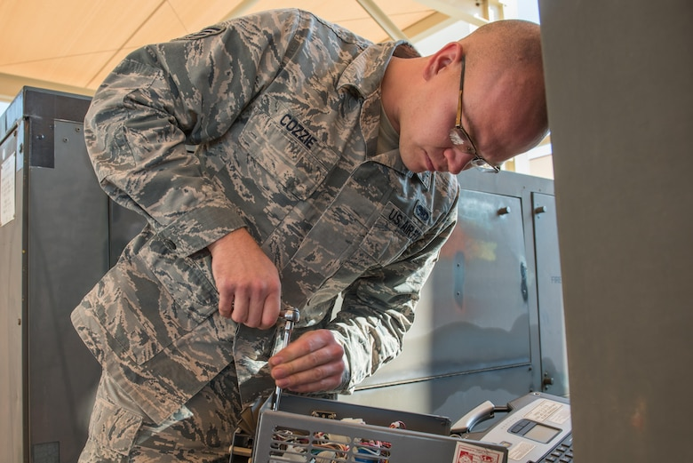 Staff Sgt. Brian Cozzie, an Aerospace Ground Equipment Journeyman assigned to the 412th Maintenance Squadron, is the 412th Test Wing's Warrior of the Week.