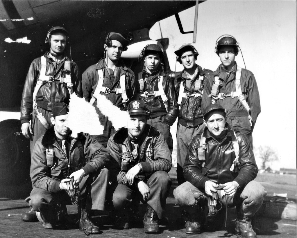 """The Aug. 11 Base Community Council Luncheon will include family members of two crewmembers from the B-17 Flying Fortress, """"Smokey Stover Jr."""