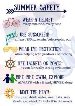 Common Sense Plays Big Role In Summertime Activities