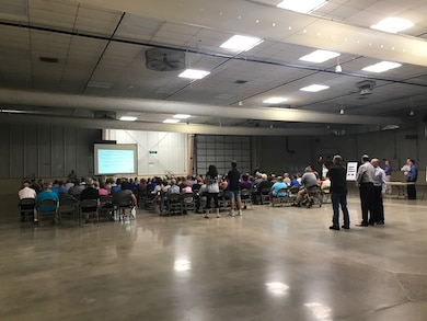 The Omaha District, in cooperation with the City of Fremont, Village of Inglewood, Dodge County and Lower Platte North Natural Resources District, held an information meeting on Monday, July 24, 2017 in Fremont to discuss potential nonstructural flood risk management solutions.