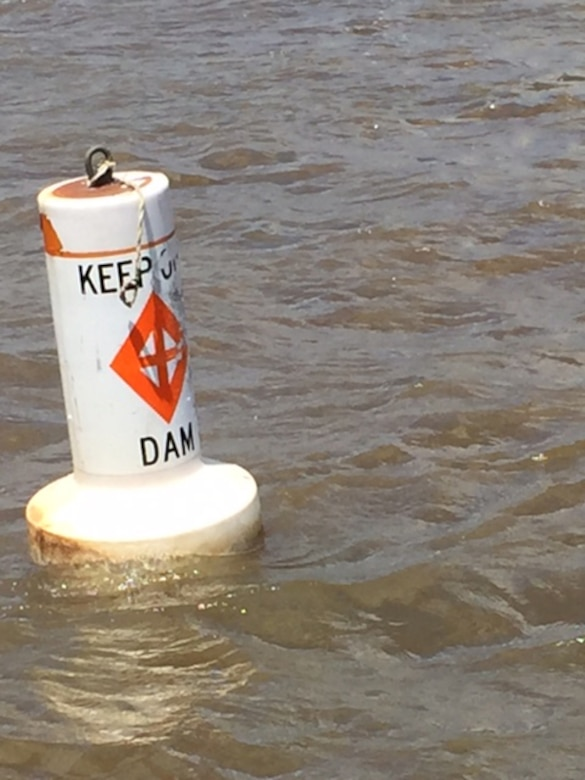 The U.S. Army Corps of Engineers Pittsburgh District is alerting mariners, anglers and other river users that warning buoys marking restricted areas at our navigation facilities may not be in place due to recent high water.