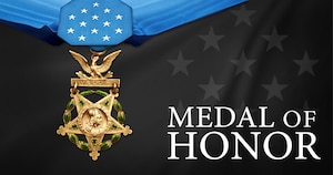 In a July 31, 2017, White House ceremony, President Donald J. Trump awarded the Medal of Honor to former Army Spc. 5 James McCloughan for heroism during the Vietnam War in 1969. Army graphic