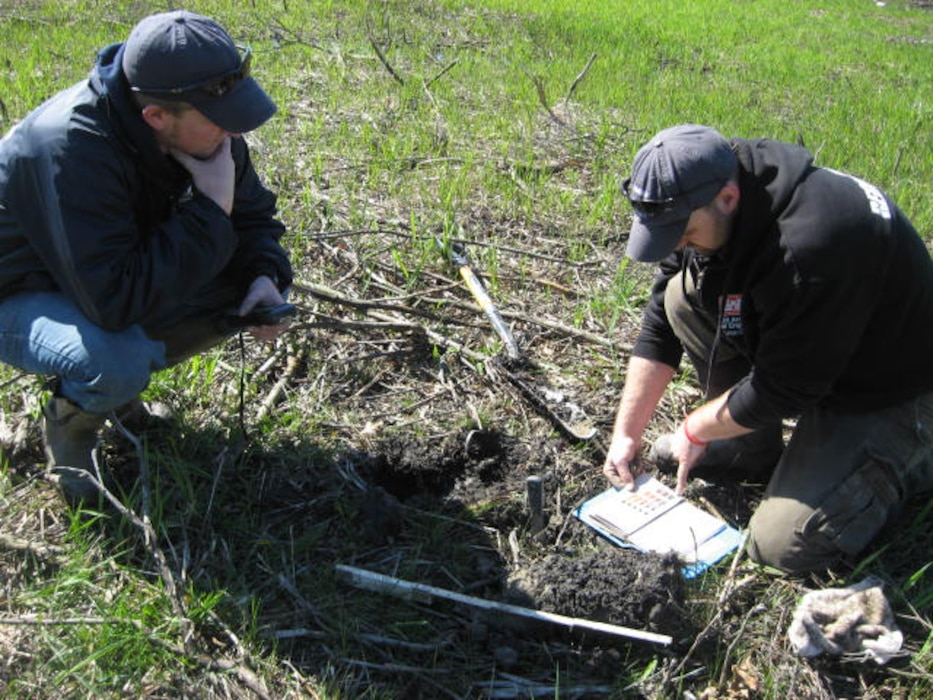 Regulators evaluate soil to determine if they have wetland soil characteristics.