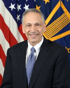 Robert M. Soofer, Deputy Assistant Secretary of Defense, Nuclear and Missile Defense Policy, Department of Defense, poses for his official portrait in the Army portrait studio at the Pentagon in Arlington, Virginia, May 01, 2017.  (U.S. Army photo by Monica King/Released)