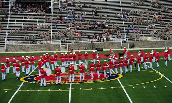 Marines aboard Quantico helped build historic Butler Stadium