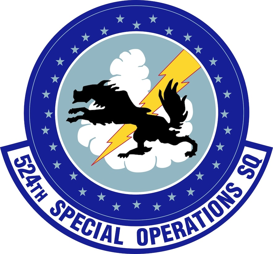 Unit emblem of the 524th Special Operations Wing