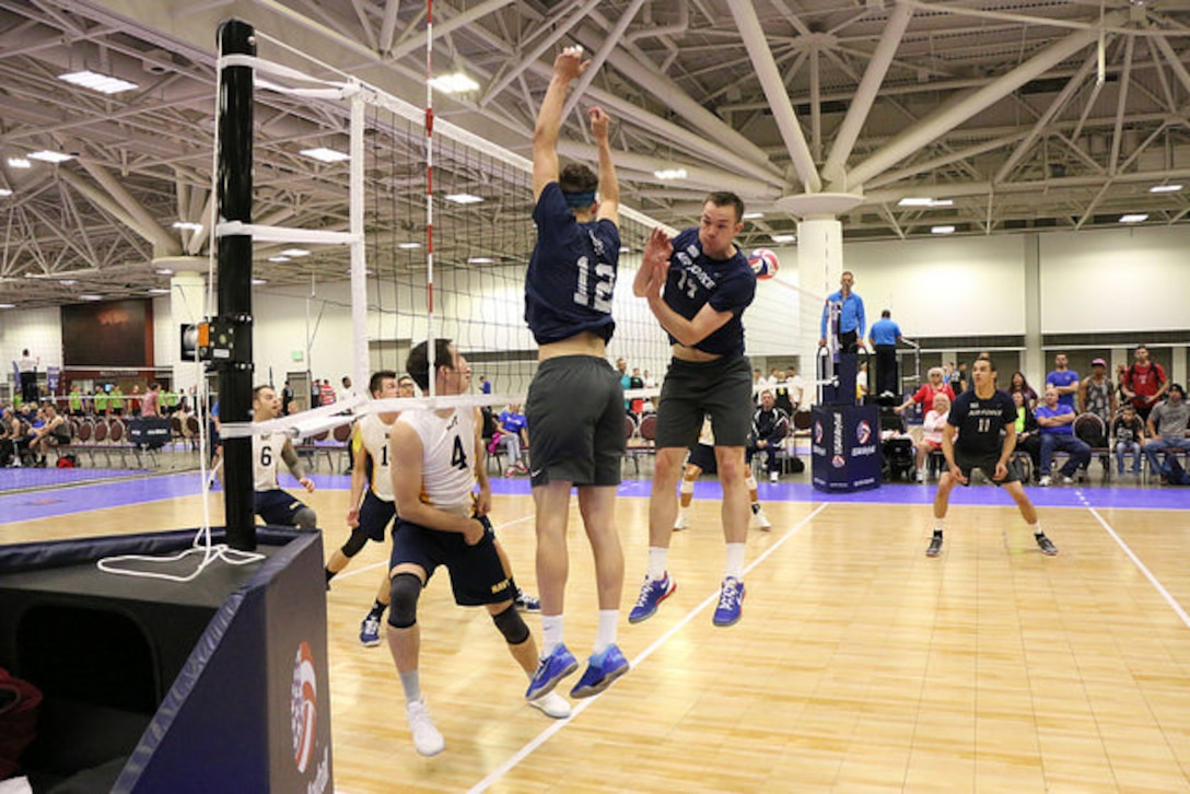 The Air Force men's volleyball team didn't surrender a set as it went undefeated in pool play. Overall, Air Force finished 6-2 and ninth out of 58 teams as part of the USA Volleyball Nationals.