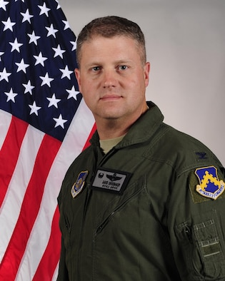 Col. David Shoemaker, 8th Fighter Wing commander.
