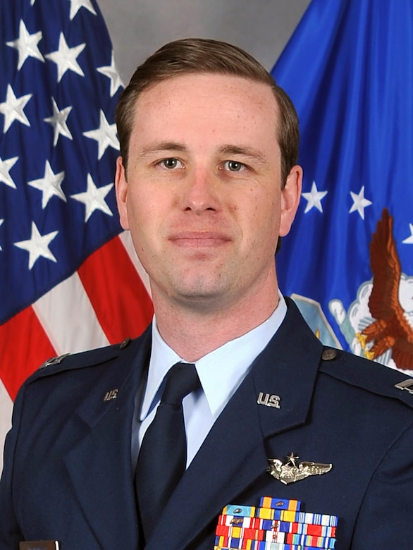 Capt. Stephen, 55th Operations Group commander's action group chief, was selected as the Air Force's Outstanding Intelligence Surveillance and Reconnaissance Officer Instructor of the Year for 2016. (U.S. Air Force photo)