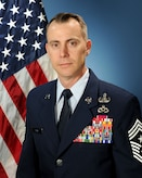 Air Force Installation and Mission Support Center Command Chief Master Sgt. Brion Blais