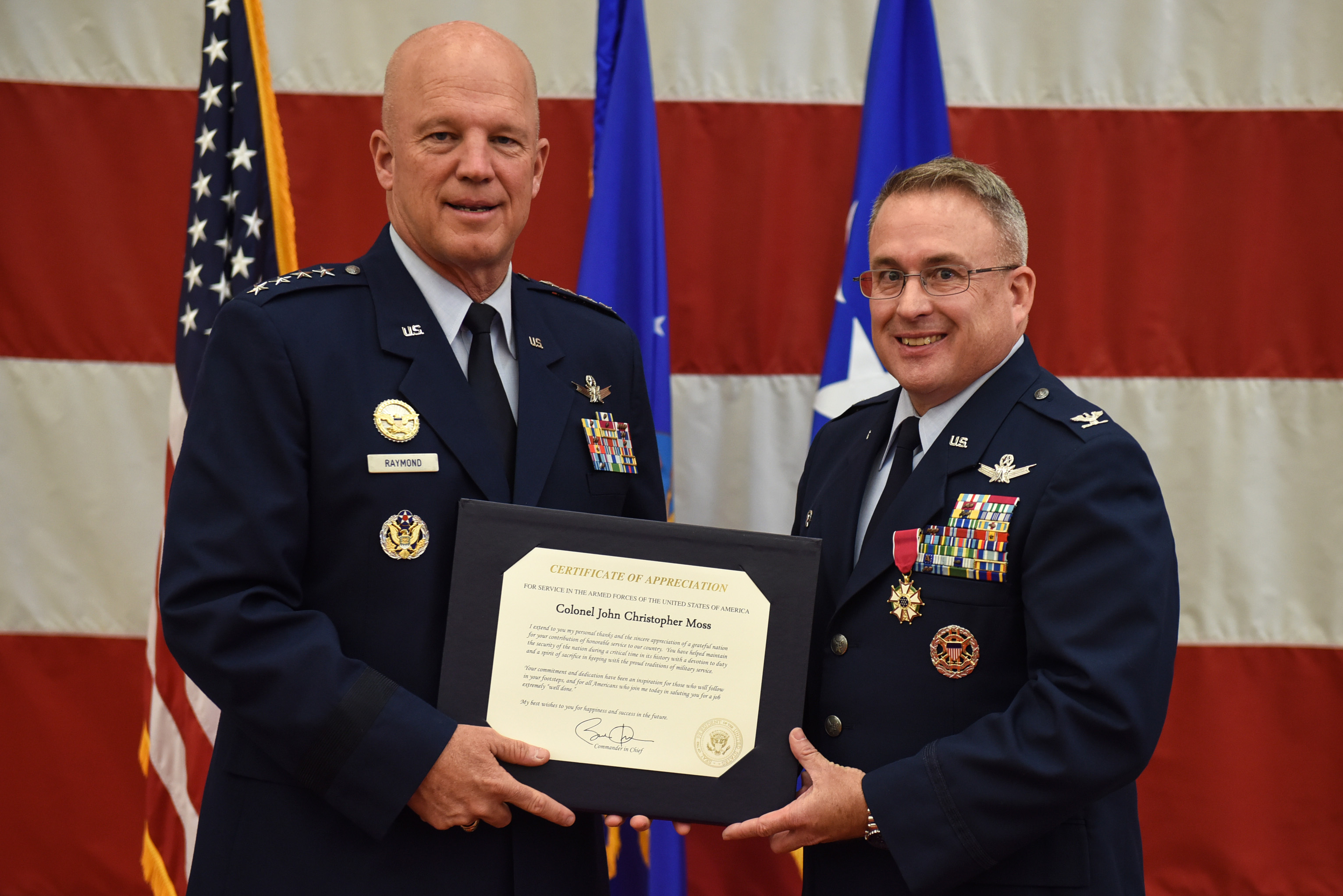 30th SW commander bids farewell to Vandenberg, Air Force