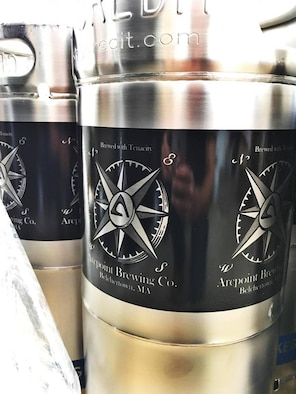 Two Westover Airmen turned business partners operate their own nano-brewery in western Massachusetts.