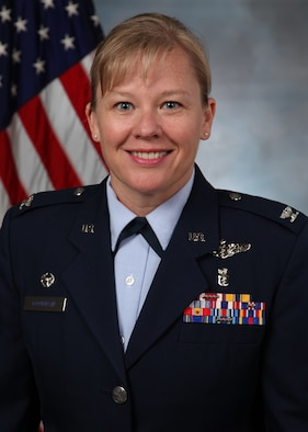 Photo of Col. Theresa Goodman, 18th MDG commander