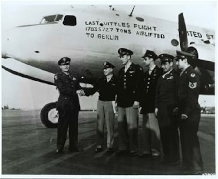 The last official flight of the Berlin Airlift in 1949. (Courtesy photo)