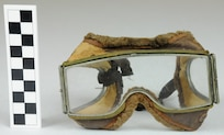 Goggles, aviator's, part of uniform used by Coast Guard Warrant Officer Cadmus Daniel Griffin, WWI.