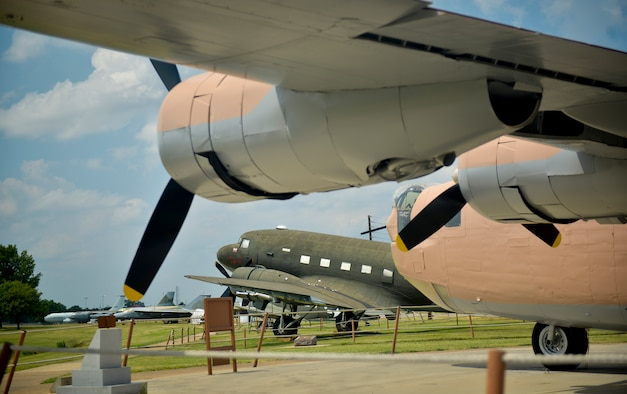 The air park at the Barksdale Global Power Museum features a total of 20 static displays, including 17 aircraft that span from a World War II B-24 Liberator to an SR-71 Blackbird. (U.S. Air Force photo/Senior Airman Mozer O. Da Cunha)