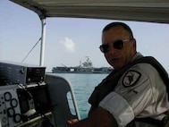BMC Ted Cooley, PSU 311 on patrol in Persian Gulf