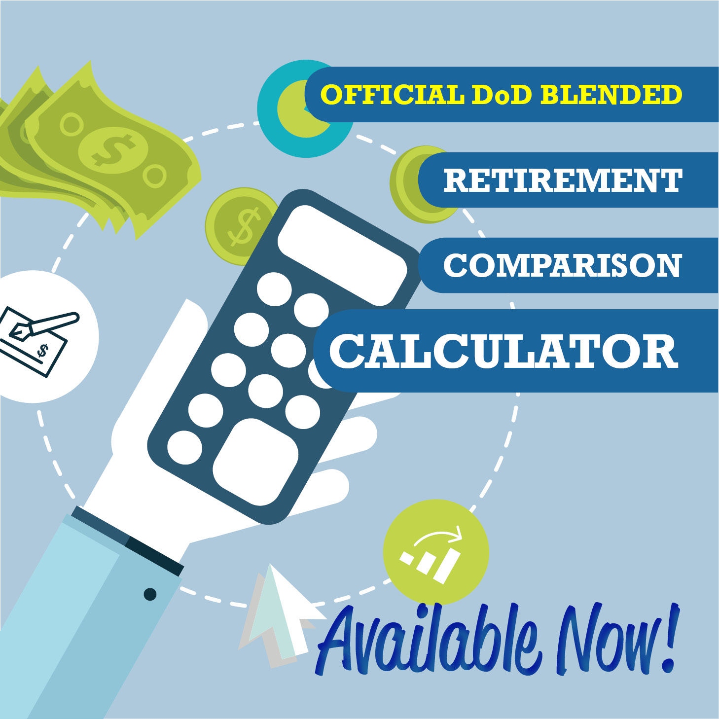 dod launches blended retirement system comparison calculator u s