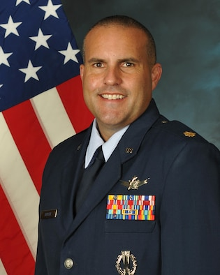 Maj. Christopher Butler, 21st Space Operations Squadron, Detachment 2 commander