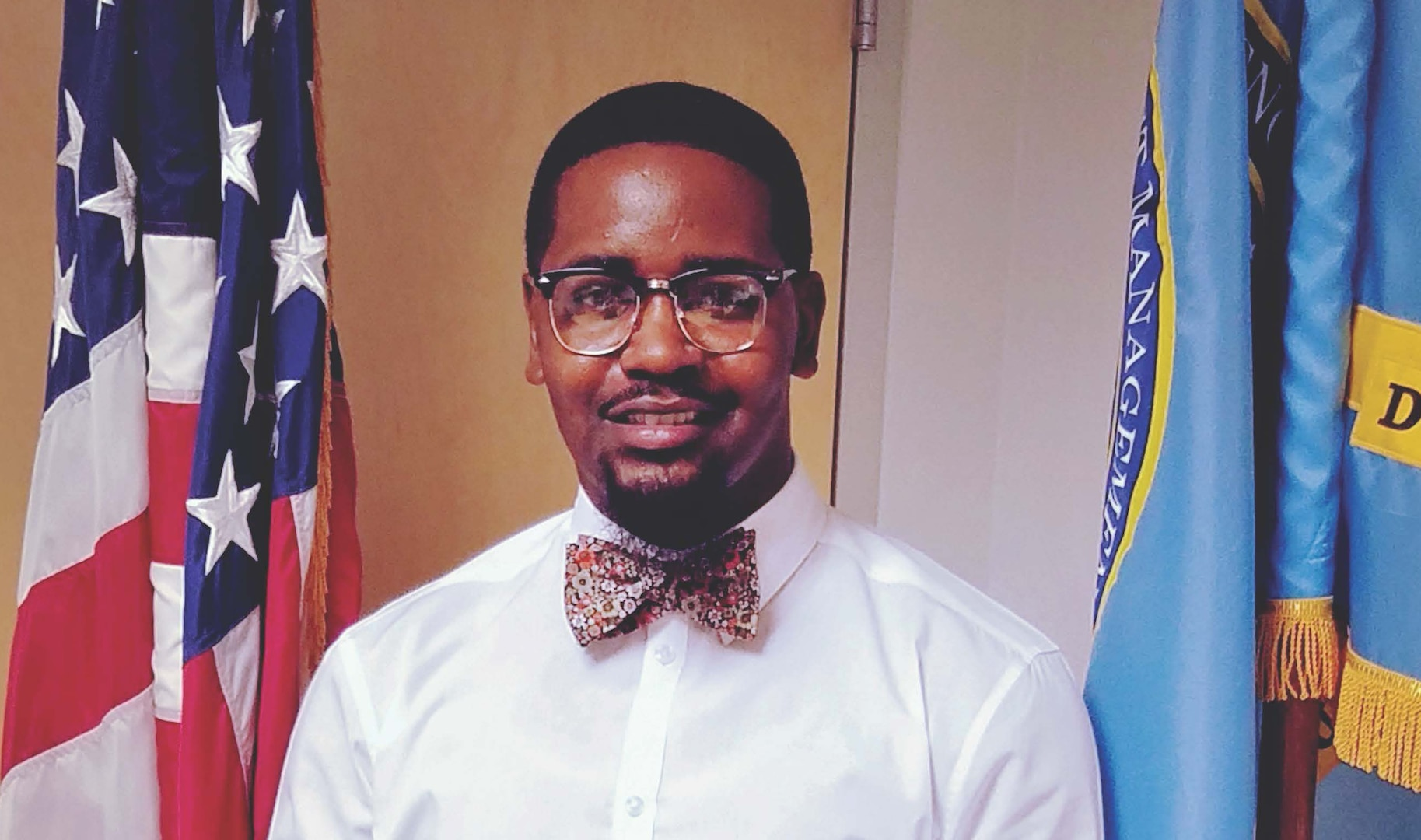 Jamal A. Hoover is a contract administrator at DCMA Aircraft Propulsion Operations Rolls Royce in Indianapolis, Indiana. He has been a part of the DCMA team for almost five years. (Photo courtesy of Brandi Hobgood)