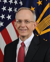 Official photograph of David J. Smith, Performing the duties of Assistant Secretary of Defense for Health Affairs