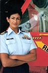 Marilyn Melendez Dykman became the first Hispanic-American female Coast Guard aviator when she earned her wings of gold on 24 May 1991.
