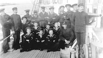 Crew of the USCGC Hamilton, 1918