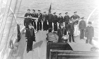 Crew of the USCGC Seminole, August, 1918.