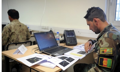 Afghan soldiers take essential communication skills to battlefield