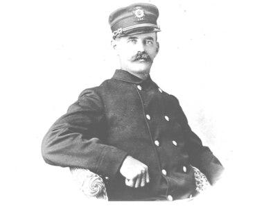 Unidentified keeper, no date, Standard uniform