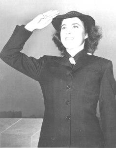 SPAR uniform details: enlisted blues WWII