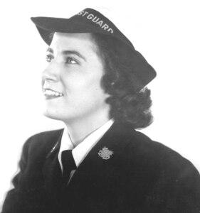 SPAR uniform details, close-up: service dress blue WWII