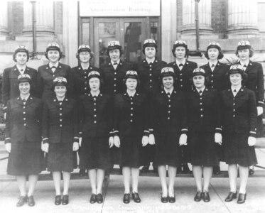 SPARs Service dress blue WWII