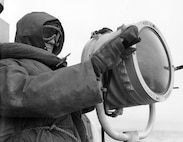 North Atlantic: foul weather gear, WWII