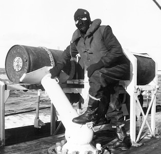 Cold weather gear, Atlantic, WWII