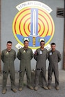 Four Colombian Air Force officers attend a State Partnership Program Subject Matter Expert Exchange on Ground Control Intercept with the Georgia Air National Guard's 117th Air Control Squadron at Hunter Army Airfield in Savannah, Georgia, May 30-June 2, 2017. During the weeklong engagement the Colombians worked with Air Controllers from 117th shaping Colombian Air Force's training plans by pairing experts together to exchange ideas. The Georgia Air National Guard supported the South Carolina National Guard's State Partnership Program during the engagement.   (U.S. Air National Guard photo by Capt. Stephen D. Hudson)
