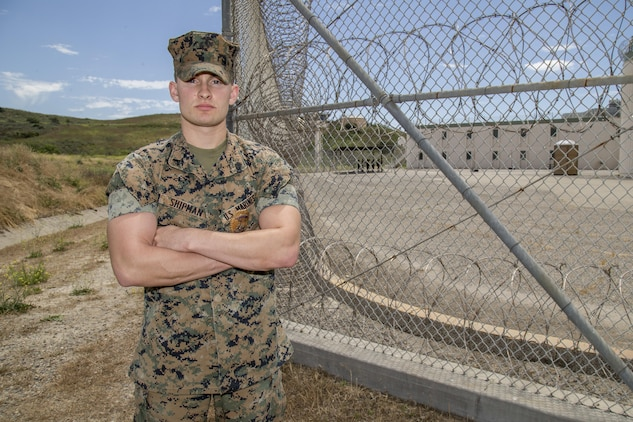 camp pendleton marine wins top american correctional
