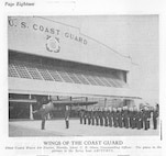 """Air Station Miami, Florida Image scanned from page 18 of the March, 1935 issue of the Coast Guard Magazine.  The original caption stated: """"Wings of the Coast Guard: Coast Guard Air Station, Florida, Lieut. C. B. Olsen, Commanding Officer.  The plane in the picture is the flying boat Arcturus."""""""