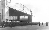 Air Station Salem, Massachusetts Muster, 1952.  Courtesy of the Pterodactyls.