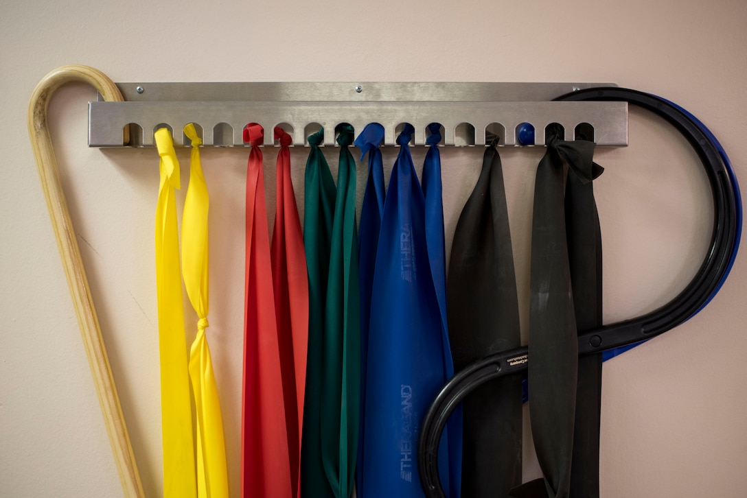 Resistance bands for home workouts and mobility