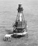 American Shoal Lighthouse, Florida; no photo number/caption/date; photographer unknown.