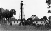 Anclote Key Lighthouse, Florida; no photo number/caption/date; photographer unknown.