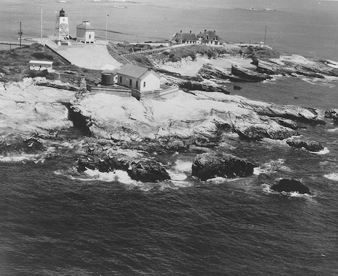 Año Nuevo Island Lighthouse, California, 1890