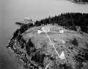 Bear Island Light, Maine OVERHEAD VIEW OF THE BEAR ISLAND LIGHT STATION, CIRCA 1972