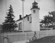 Beaver Island Harbor Light, Michigan STATION WITH KEEPER'S QUARTERS