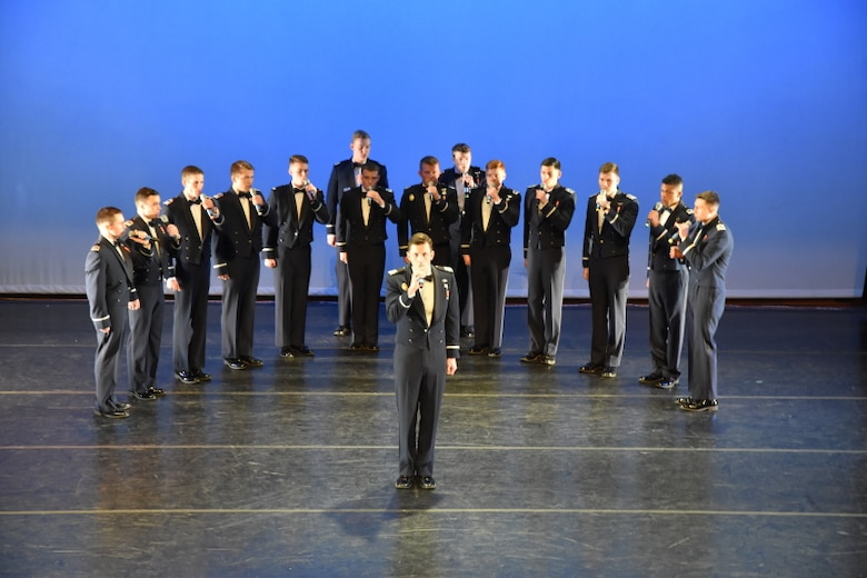 In the Stairwell, the Air Force Academy's all-male a capella singing group, is scheduled to appear on NBC's America's Got Talent, 7 p.m., June 13. (Courtesy photo)