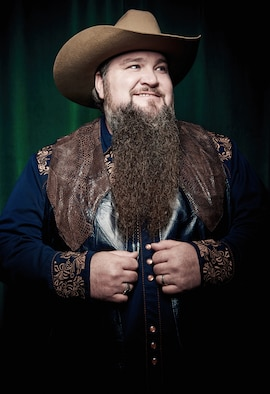 "Sundance Head, winner of the NBC-TV singing competition ""The Voice,"" will perform at 10 U.S. Air Force installations starting June 30. (Meredith Truax courtesy photo)"