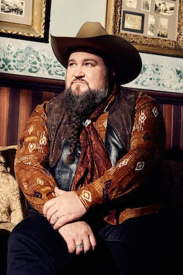 """Sundance Head, winner of NBC-TV's """"The Voice"""" in December 2016, has been touring with his singing contest mentor and country music star Blake Shelton. Head says he is eager to meet Airmen to thank them personally for their service. (Meredith Truax courtesy photo)"""